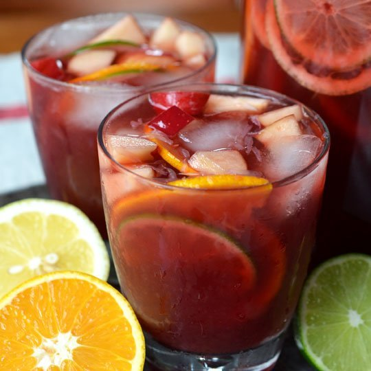 non alcoholic sangria image