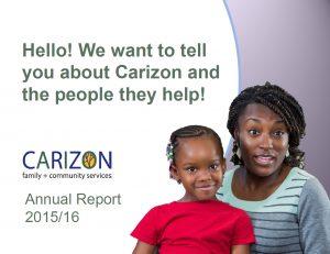 Carizon 2015-16 Annual Report