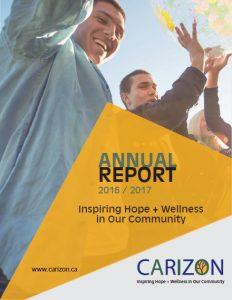 Annual Report 2016 2017 Cover