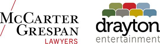 McCarter Grespan and Drayton logos