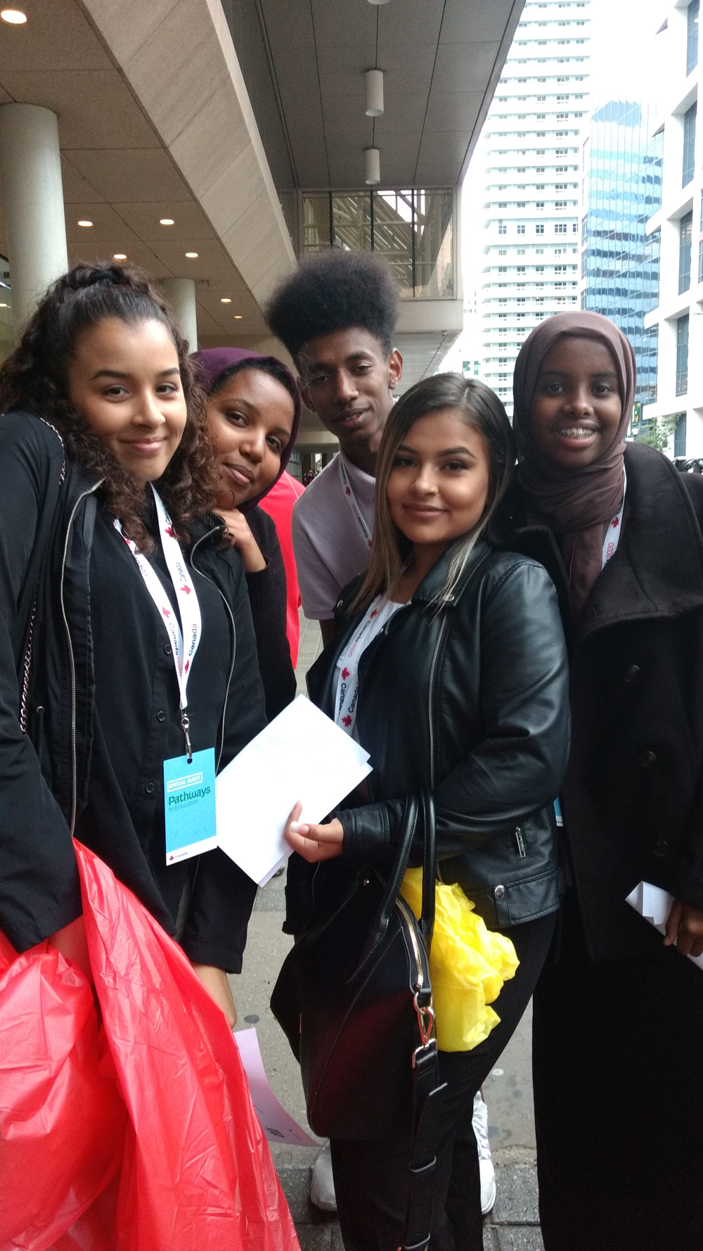Kitchener Pathways Students attend Canada 2020 event with President Barack Obama