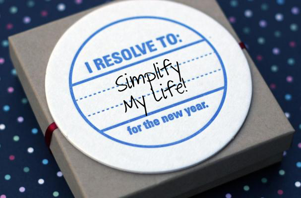 Simplify My Life resolution